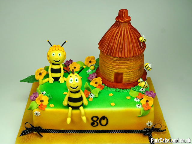 80th Birthday Cake London