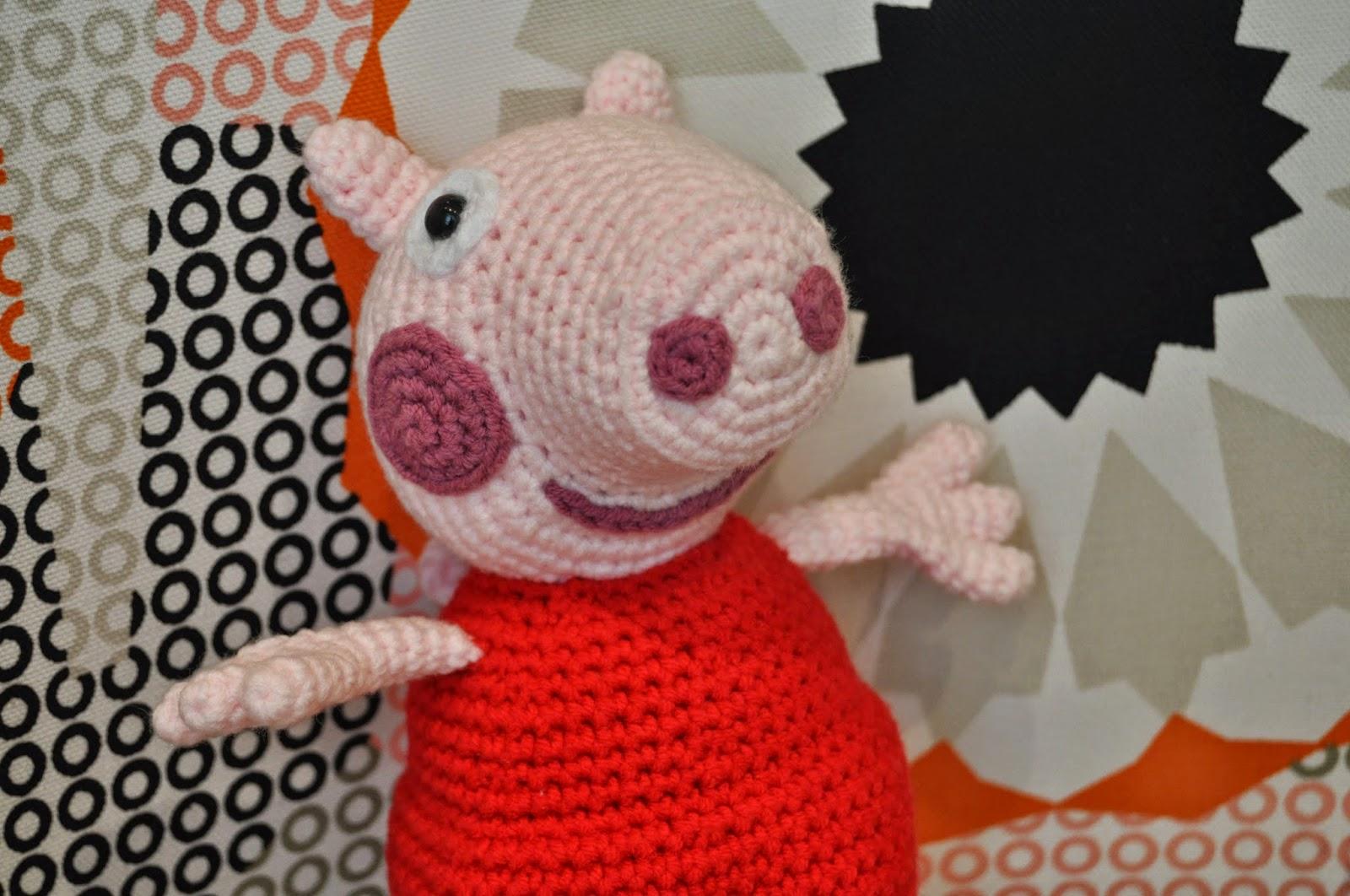 PEPPA PIG AMIGURUMI PATRÓN GRATIS - YouTube | 1062x1600