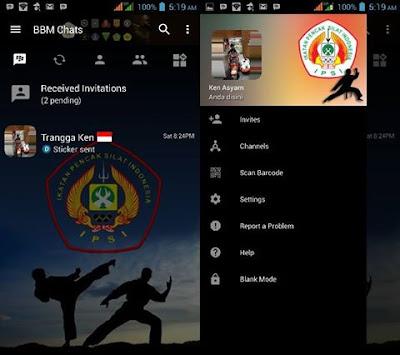 BBM Mod IPSI Tema bbm PSHT V3.2.0.6 Apk