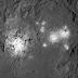 Dawn spia le macchie luminose di Cerere dalla sua ultima orbita