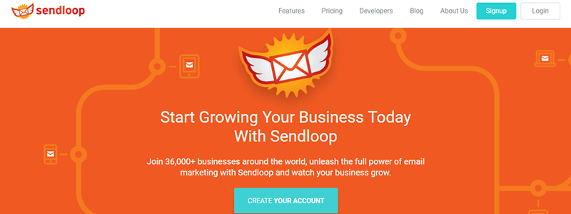 Create beautiful and high-converting emails in minutes with Sendloop