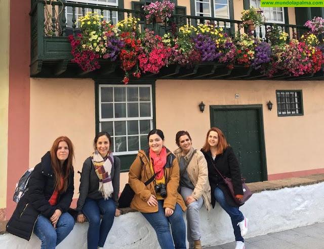 Turismo La Palma da a conocer la isla a periodistas especializados del Reino Unido y agencias de viaje españolas