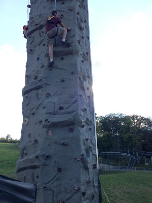 Climbing Wall, Blue Mountain, Collingwood, ON
