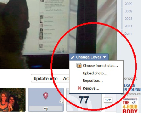 How Do I Change Cover Photo On Facebook