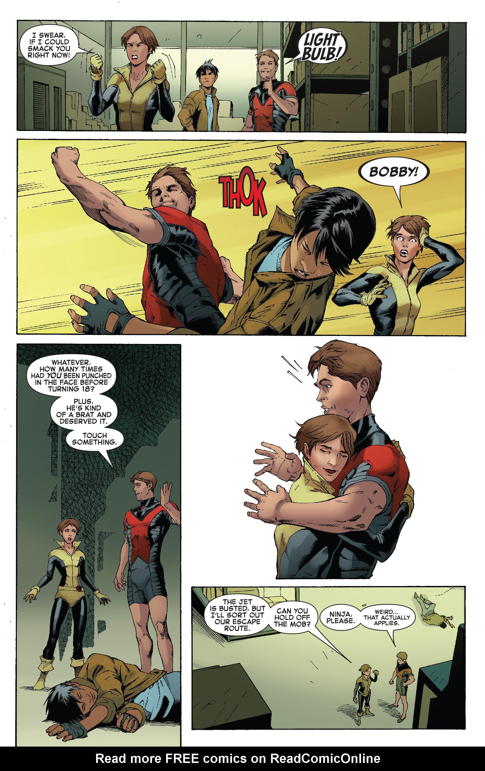 Read online Iceman (2017) comic -  Issue #2 - 17