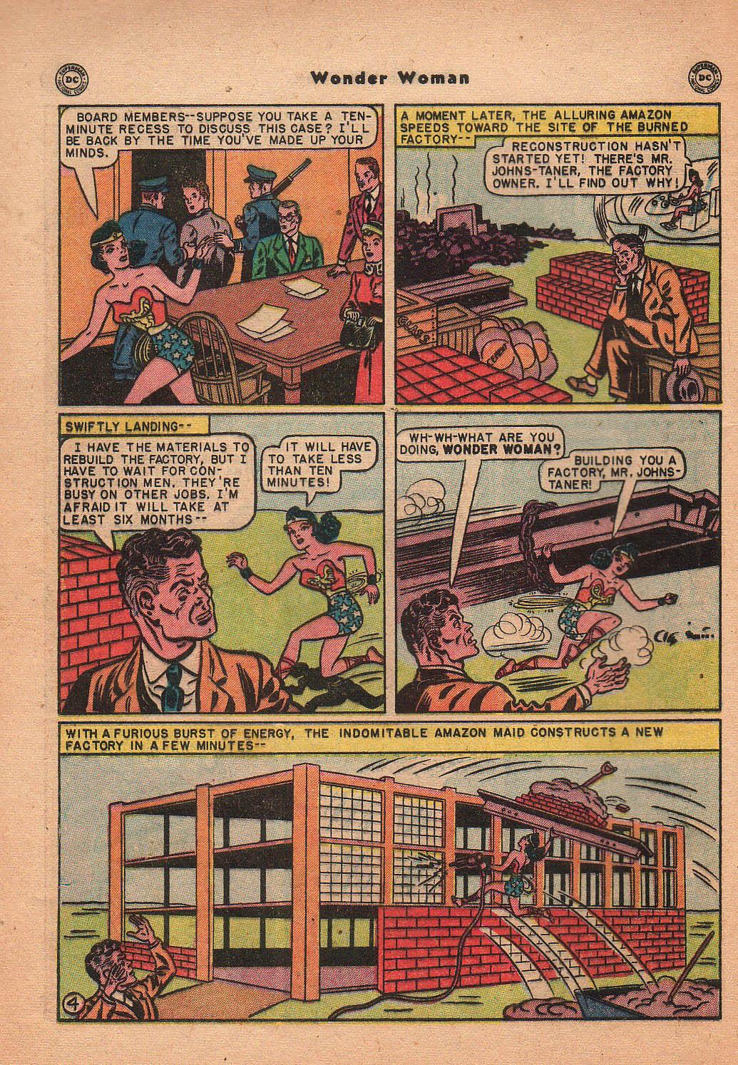 Read online Wonder Woman (1942) comic -  Issue #42 - 41