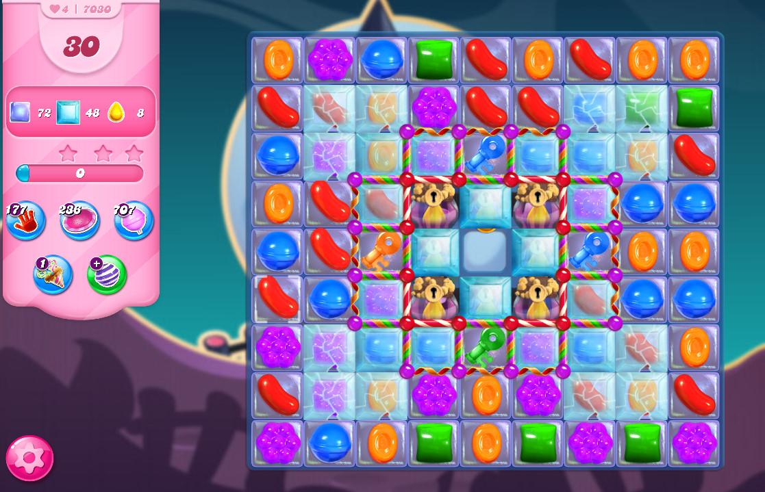 Candy Crush Saga level 7030