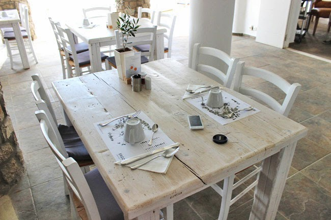 Rocabella Mykonos Art Hotel & SPA breakfast area