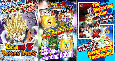 Screenshot: Dragon Ball Z: Dokkan Battle Apk