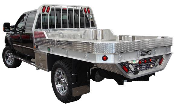Custom Flatbed Trucks