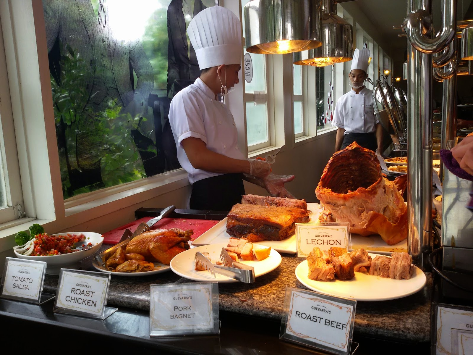 Chef Laudico Guevarra's Buffet Review