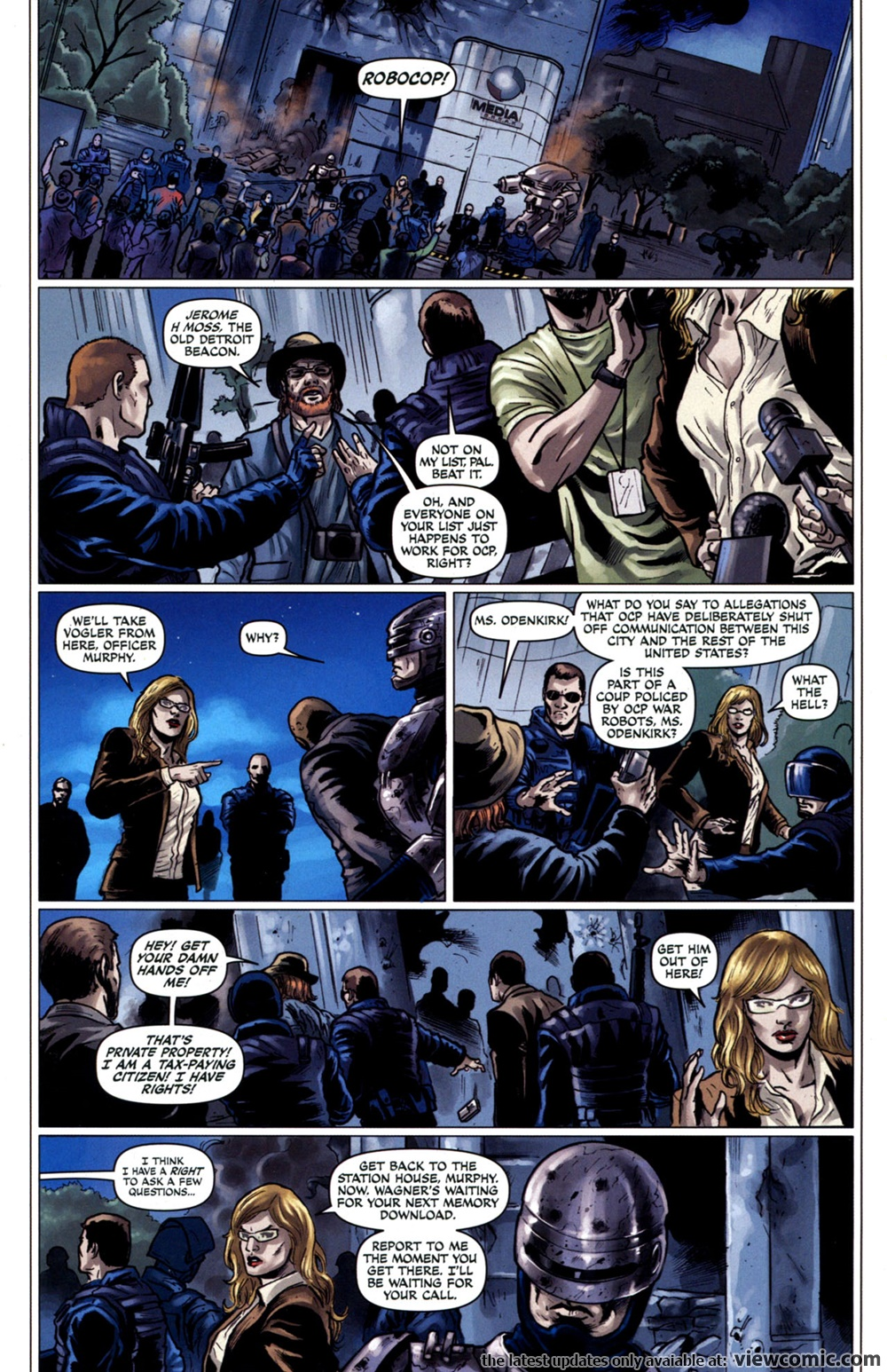 Robocop v4 03 (2010) | Vietcomic.net reading comics online for free