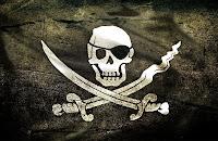 Kılıçlı korsan bayrağı