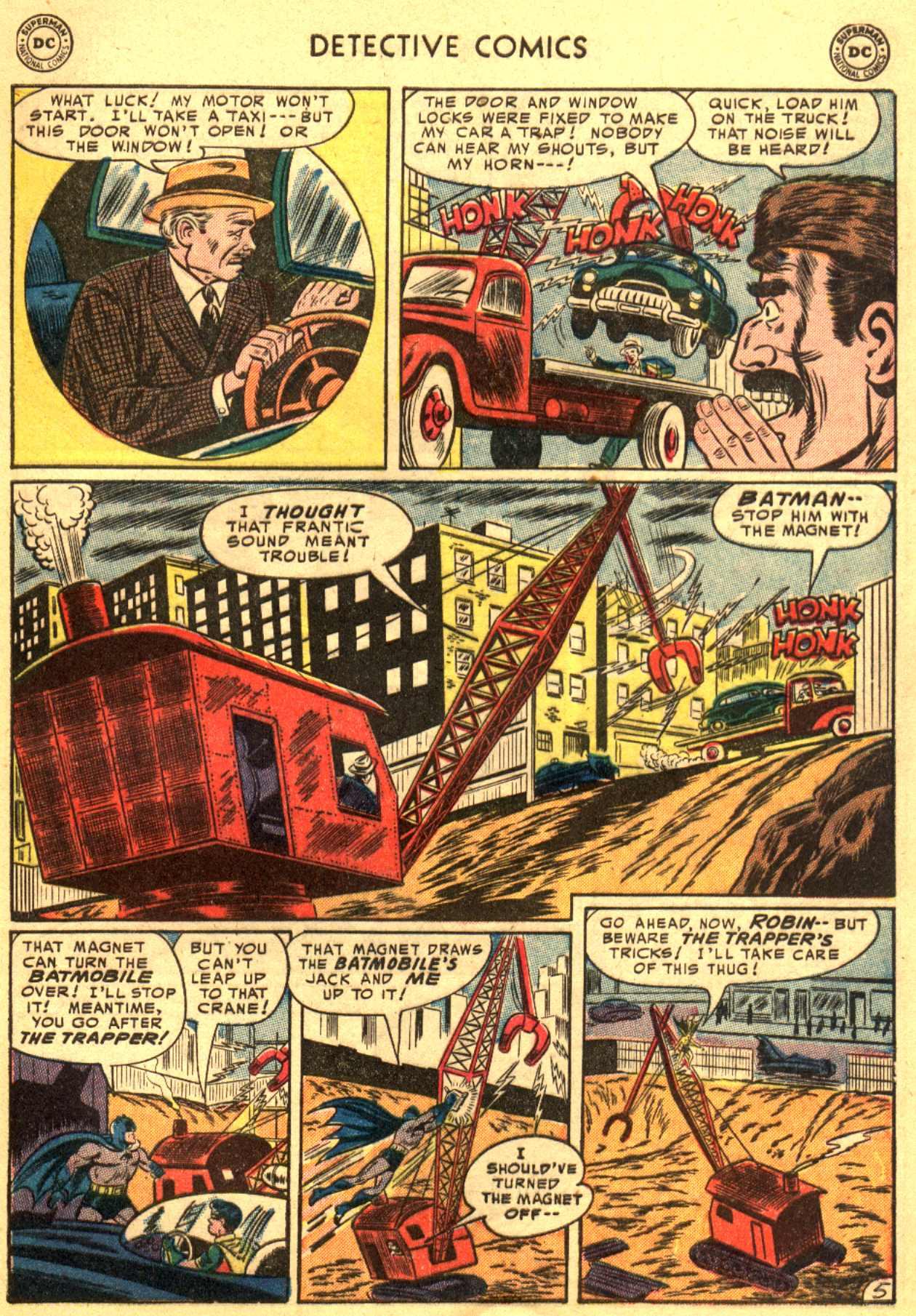 Read online Detective Comics (1937) comic -  Issue #206 - 5