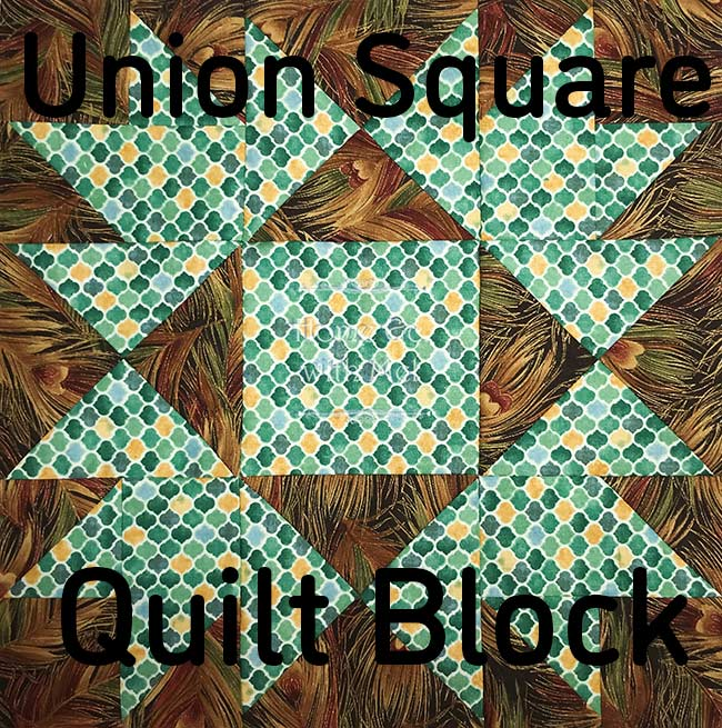 Learn more about my experience making the Union Square quilt block by Fat Quarter Shop and get the pattern.
