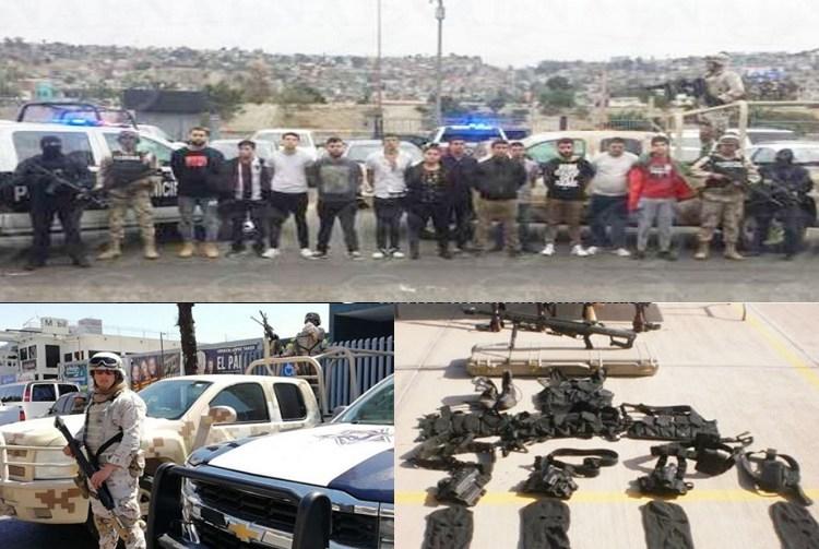 """Capturan a """"El Tetos""""  y a diez cómplices más en Tijuana"""