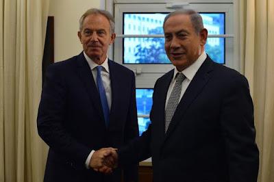 Netanyahu discute Paz e Segurança no Oriente Médio com o ex-primeiro-ministro britânico Tony Blair