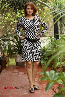 Actress Saloni Latest Pos in Short Dress  0330.JPG