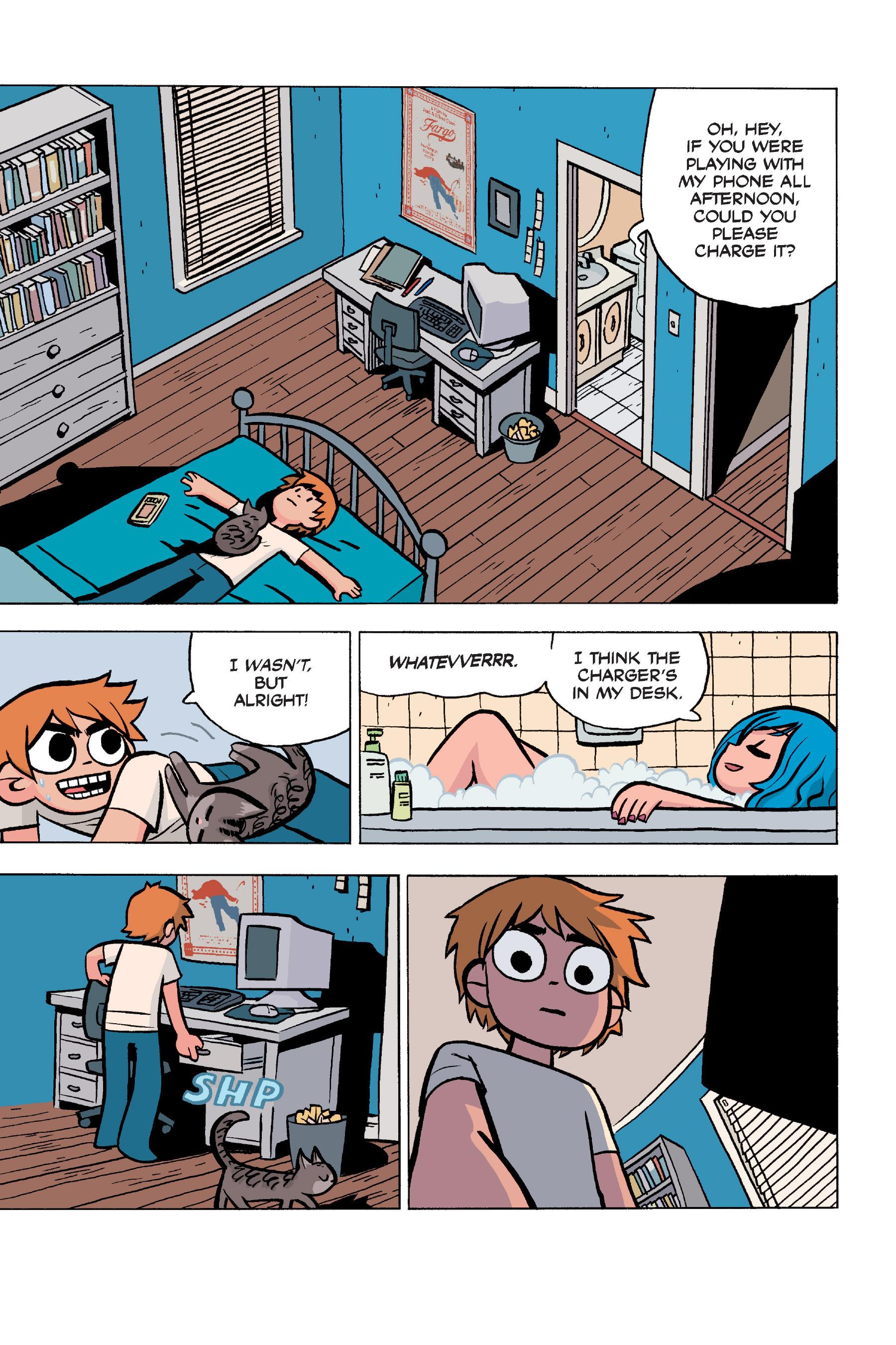 Read online Scott Pilgrim comic -  Issue #5 - 28
