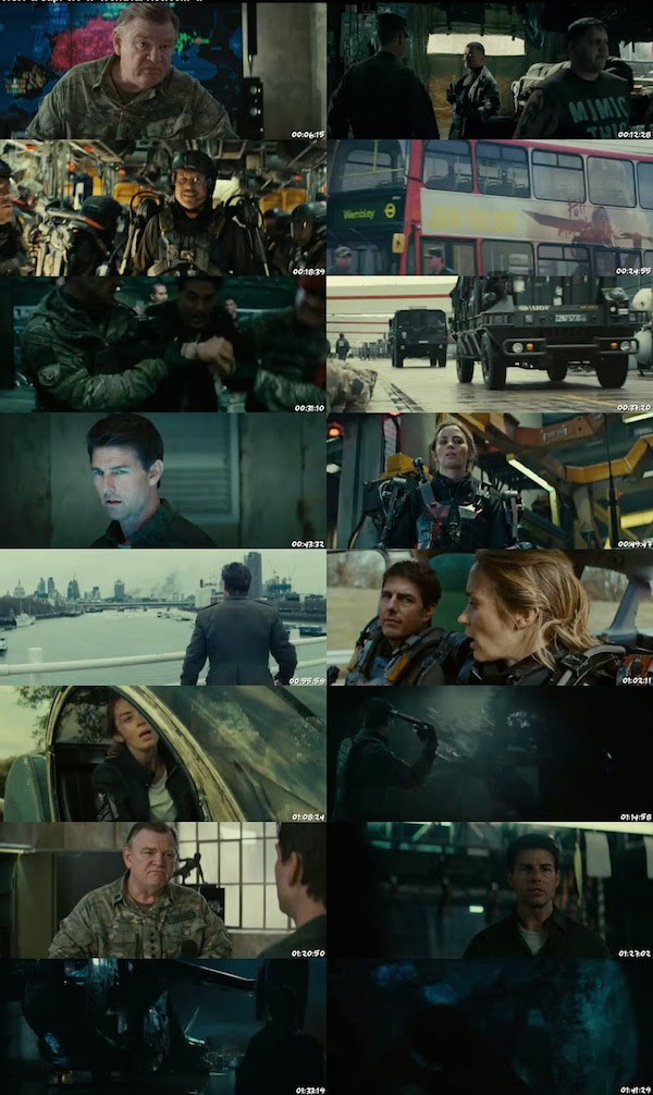 Edge of Tomorrow 2014 Dual Audio BRRip 480p