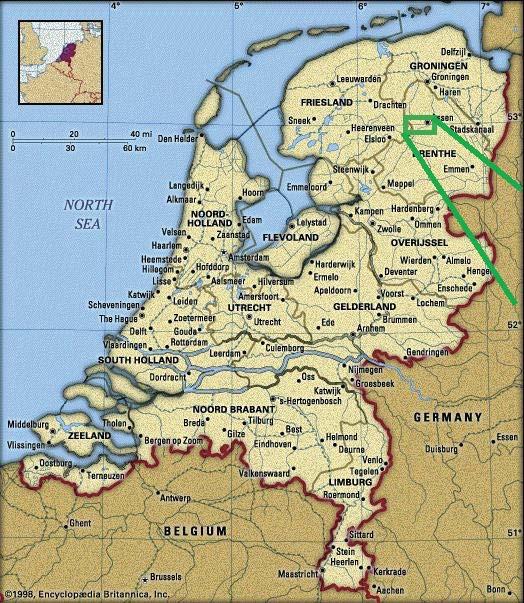 Netherlands Bikeways Return to Drenthe I Het Fochteloorveen