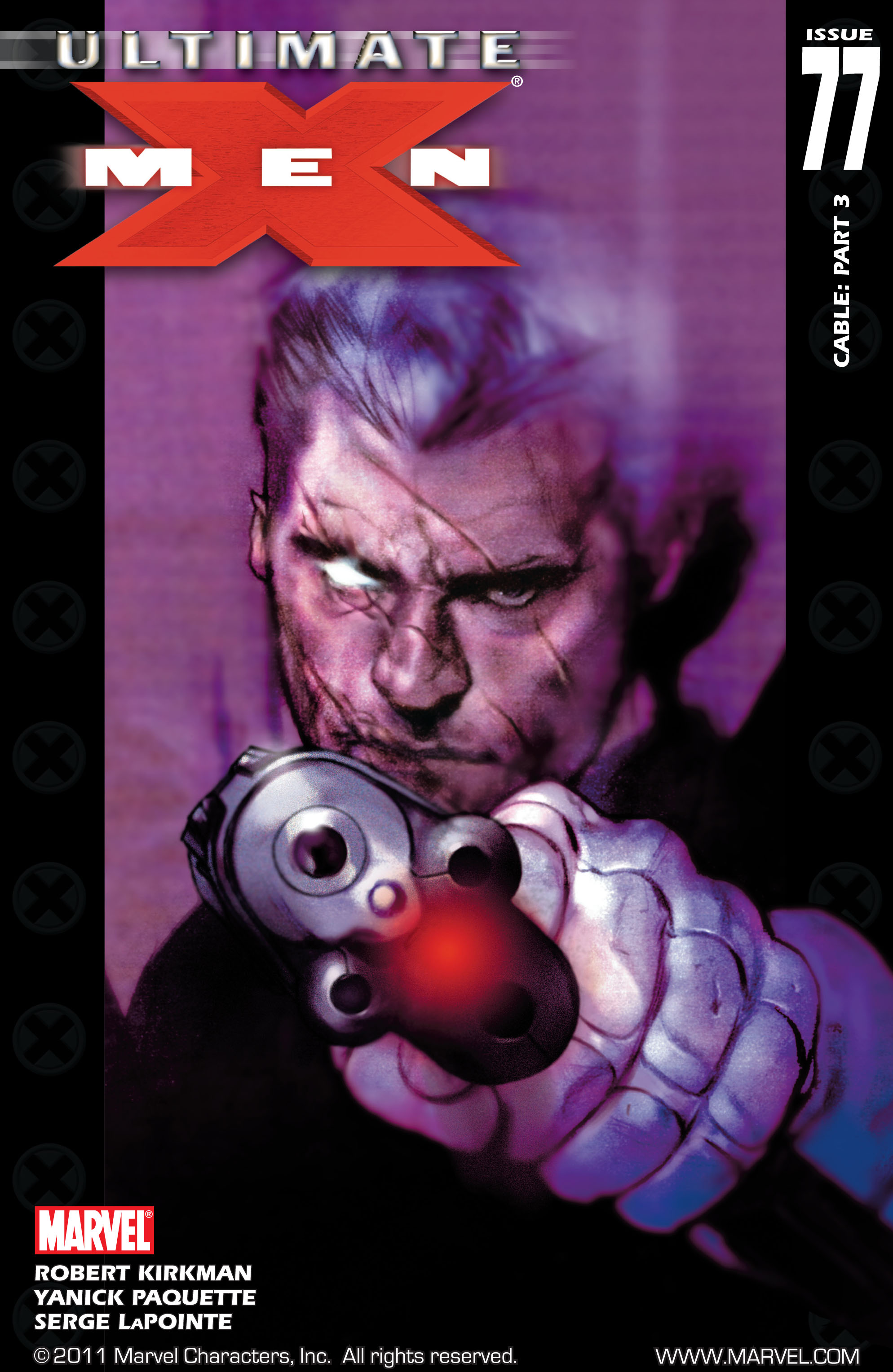 Read online Ultimate X-Men comic -  Issue #77 - 1