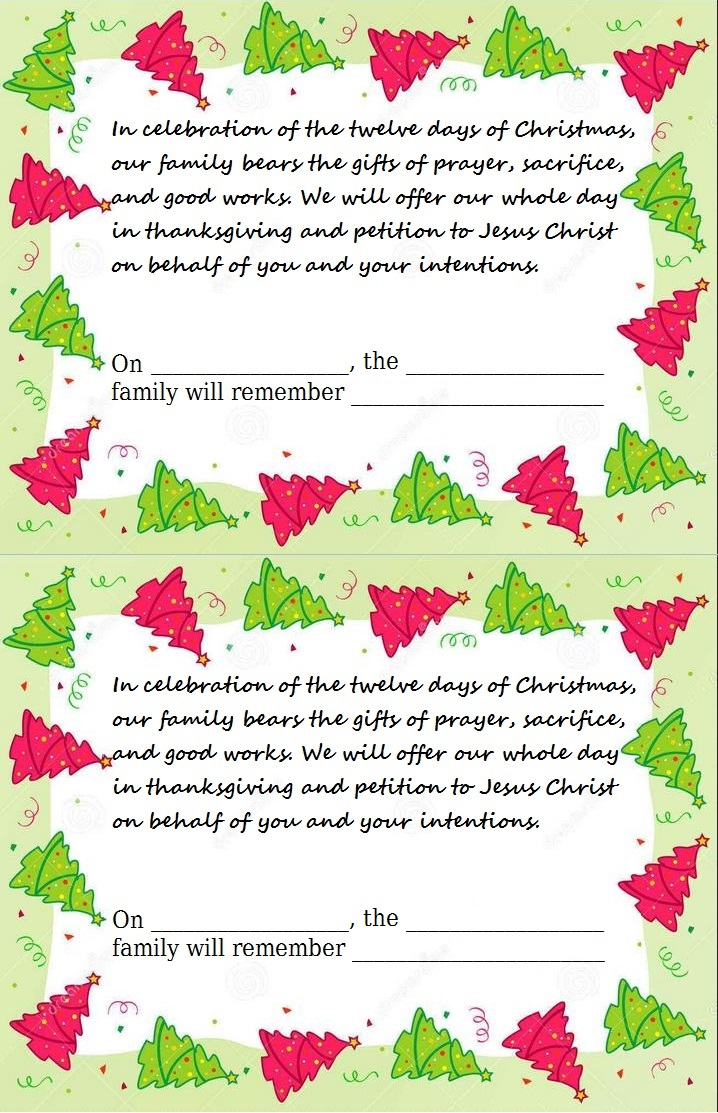 12 Strategies for the 12 Days of Christmas - Blessings in ...