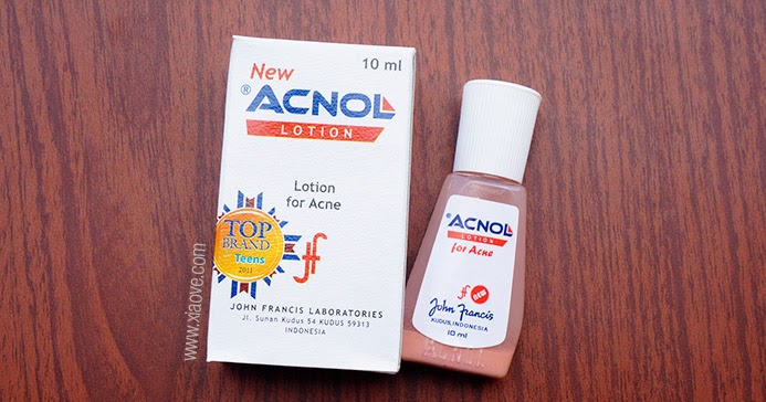 Xiao Vee: Indonesian Beauty Blogger: Acnol Lotion - Obat ...