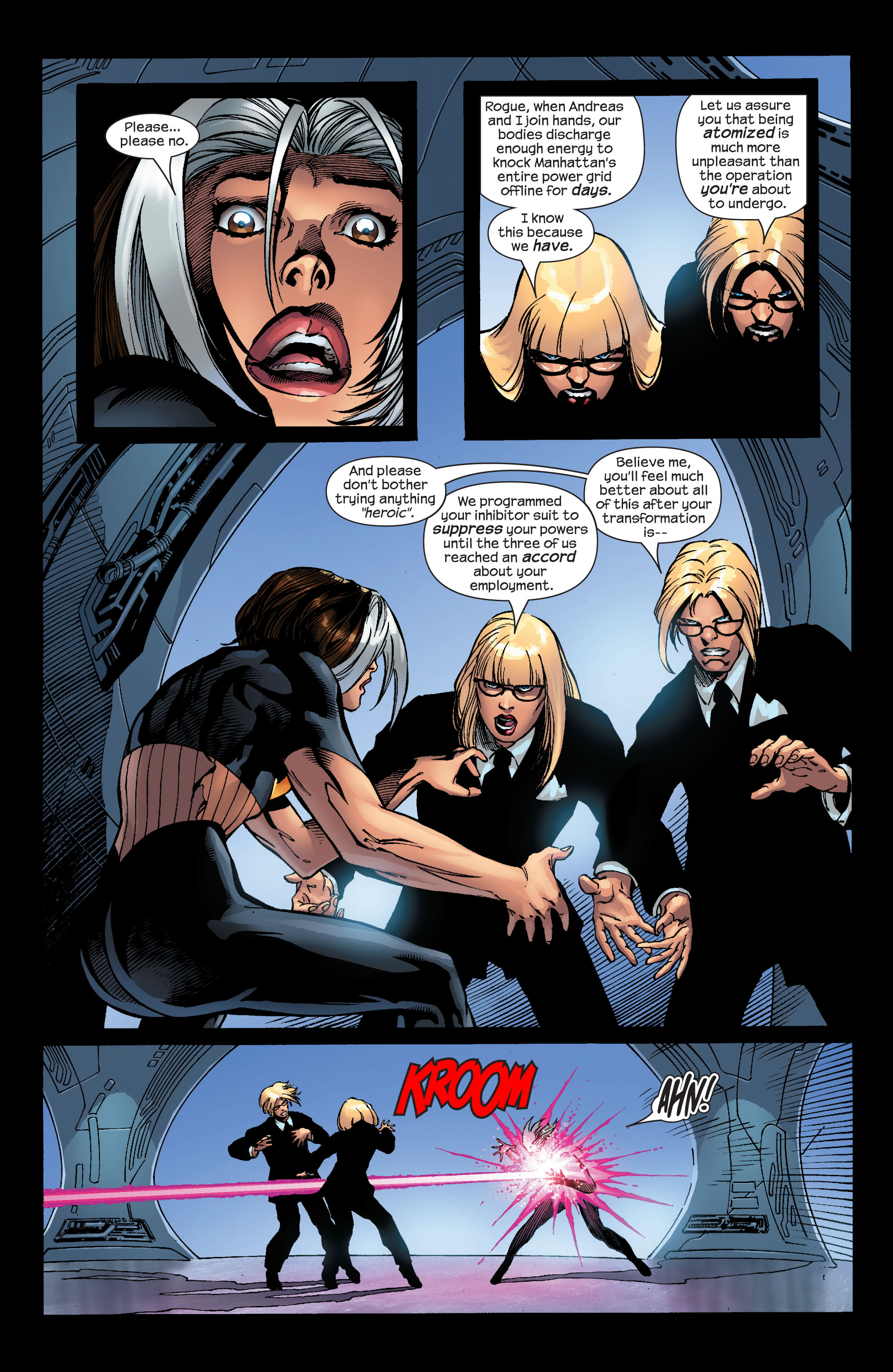 Read online Ultimate X-Men comic -  Issue #52 - 21