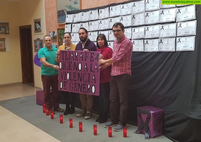 Tijarafe se suma a la conmemoración del Día Internacional de la Eliminación de la Violencia contra la Mujer