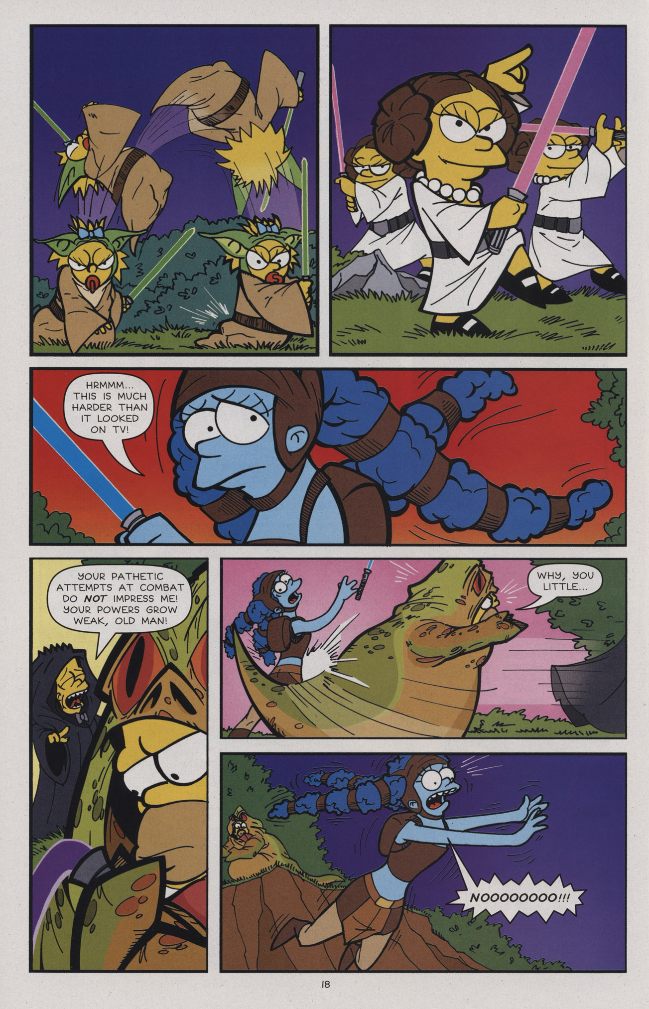 Read online Treehouse of Horror comic -  Issue #17 - 21