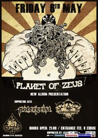 Planet Of Zeus, Potergeist, Harsh Demise @ Athens, 06/05/11