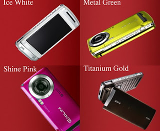 Casio EXILIM W63CA with 8.1 megapixel camera