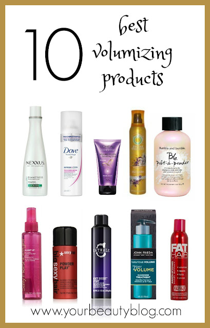 10 best volumizing products