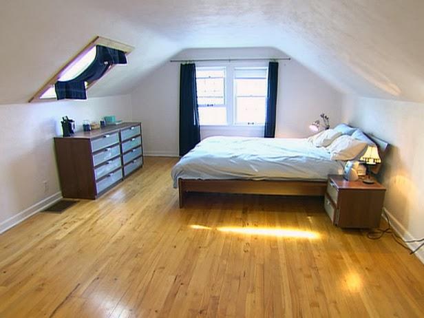 Foundation Dezin & Decor...: Attic Bedroom Design