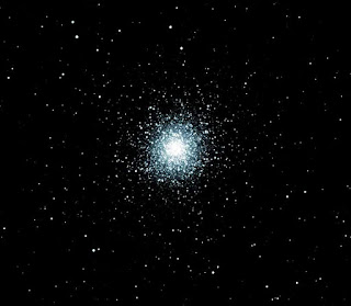 Image of M13 - Globular Cluster in Hercules - 300 Second Exposure