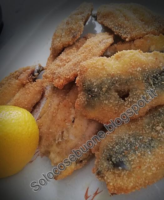 Sardine  impanate e fritte