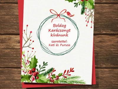 karácsonyi üdvözlet, karácsonyi üzenet, purusa, élj harmóniában, boldog karácsonyt
