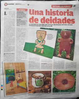 Nota de prensa de diari d'Equador