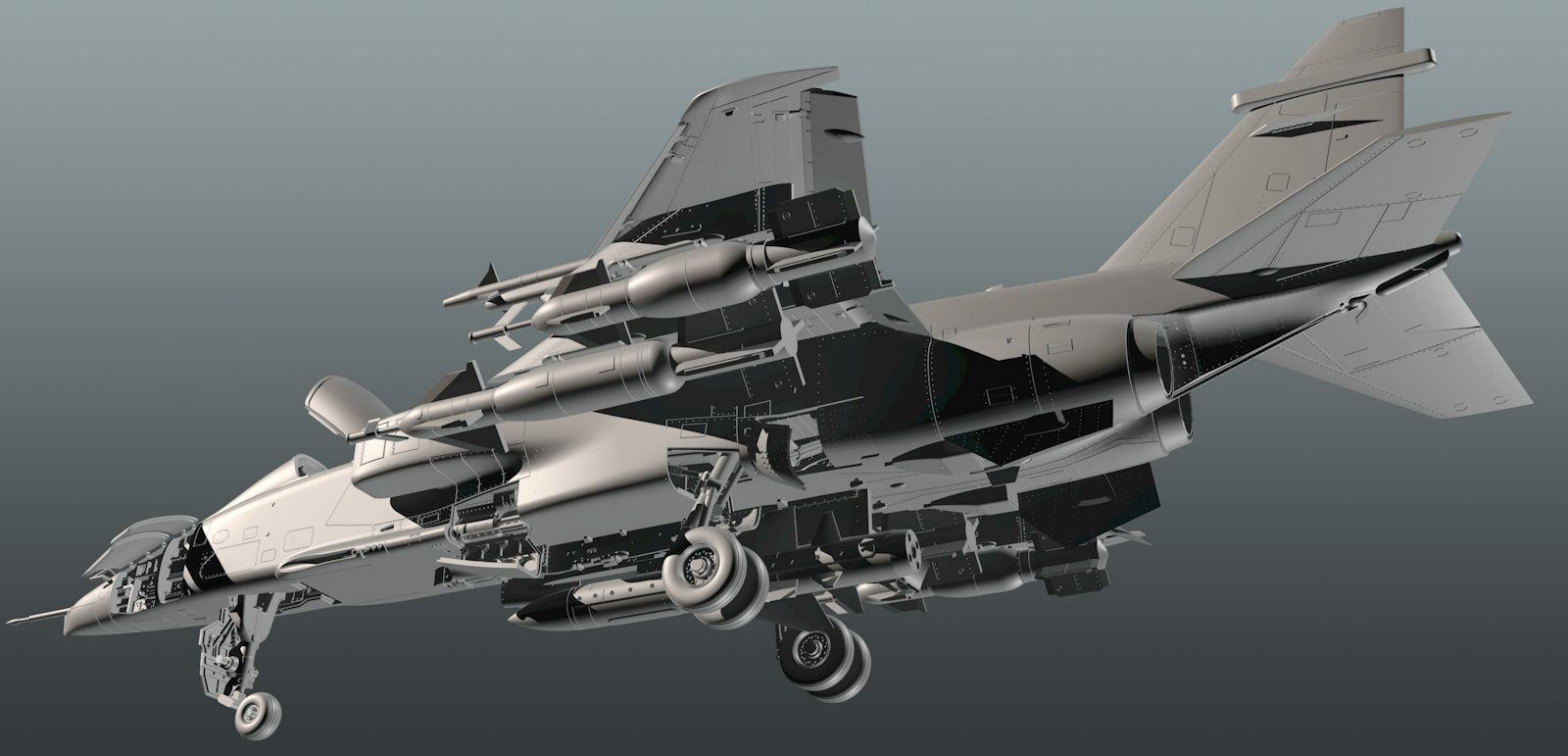 The Modelling News: CAD Preview: Kittyhawk upsizes their cat