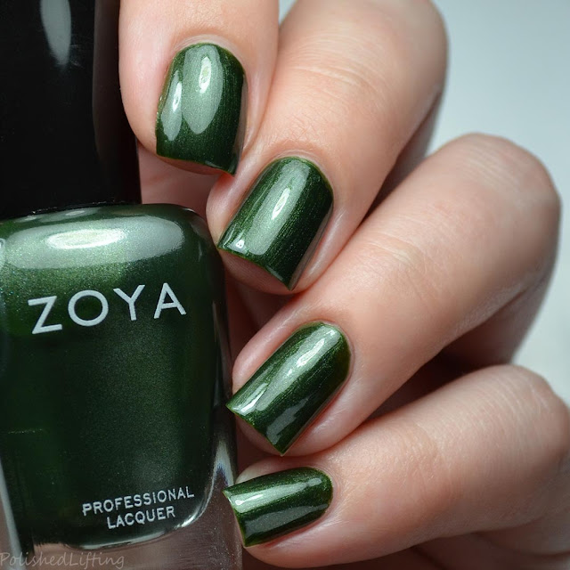 hunter green nail polish