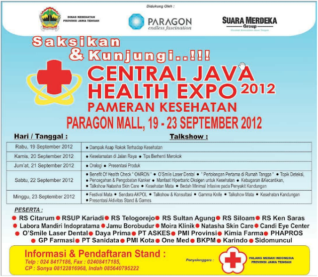 Pameran Kesehatan Central Java Health Expo 2012