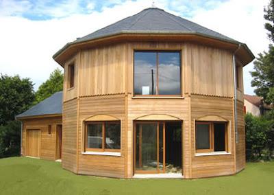 wood style house 06