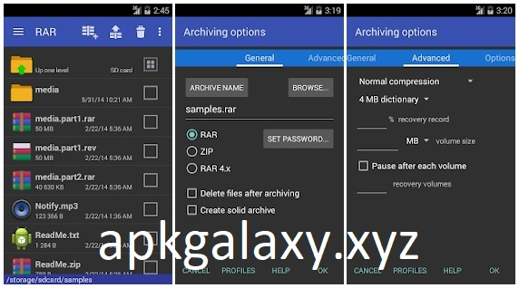 RAR for Android Mod Lite Apk [Premium features Unlocked