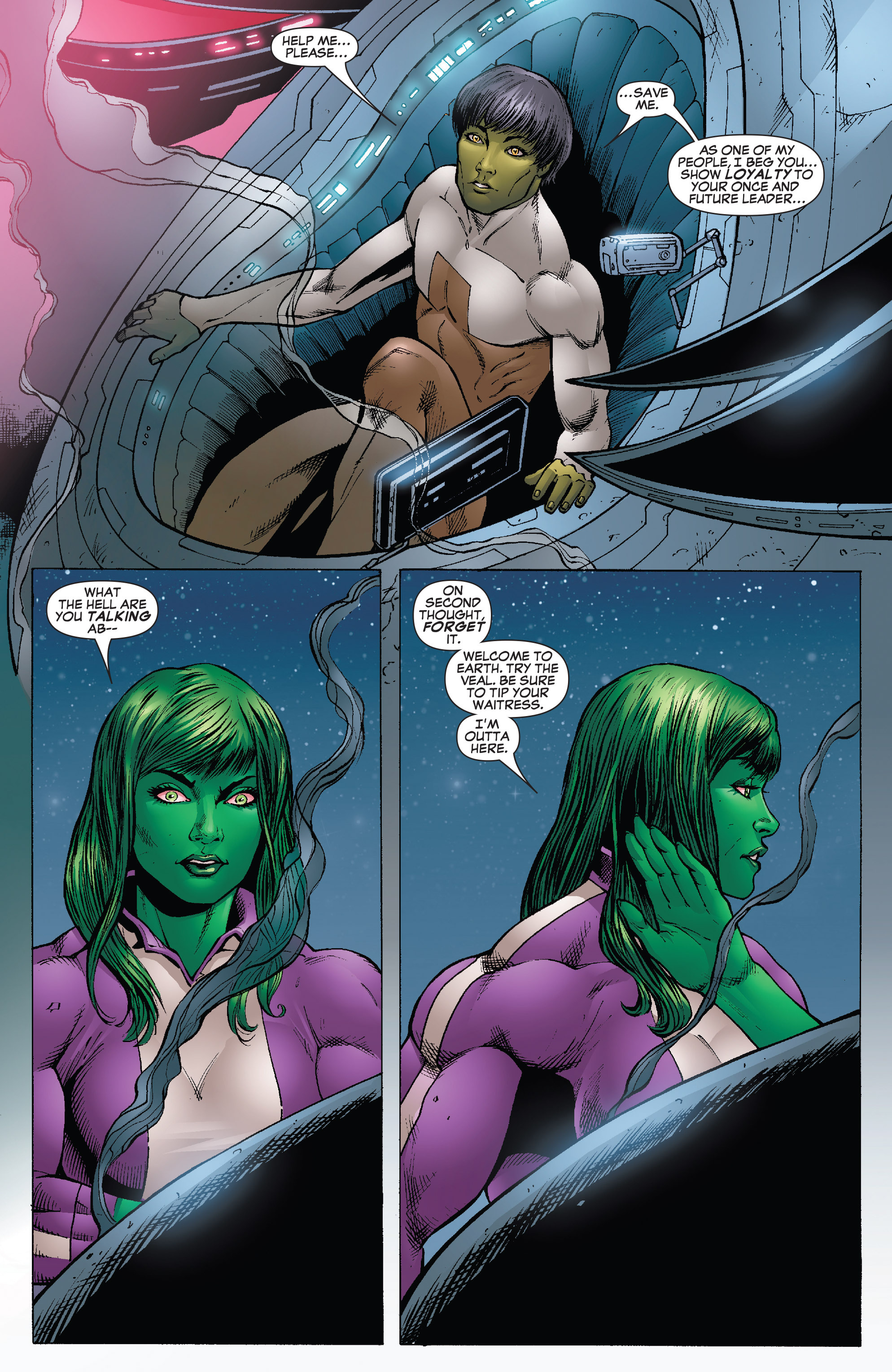 Read online She-Hulk (2005) comic -  Issue #25 - 12