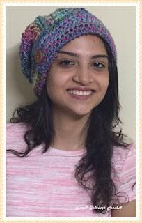 free crochet pattern, free crochet tam cap, free crochet beanie pattern,