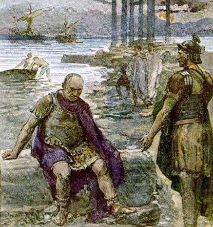 Old Gaius Marius in exile