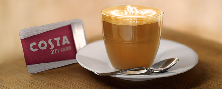 Costa Coffee Gift Card