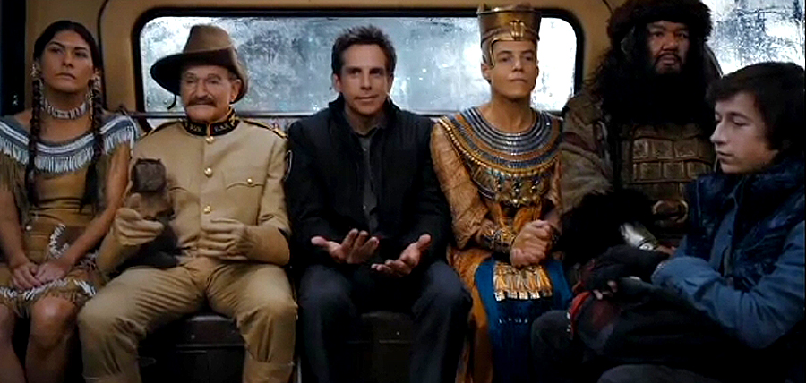 Personajele principale din Night At The Museum: Secret Of The Tomb