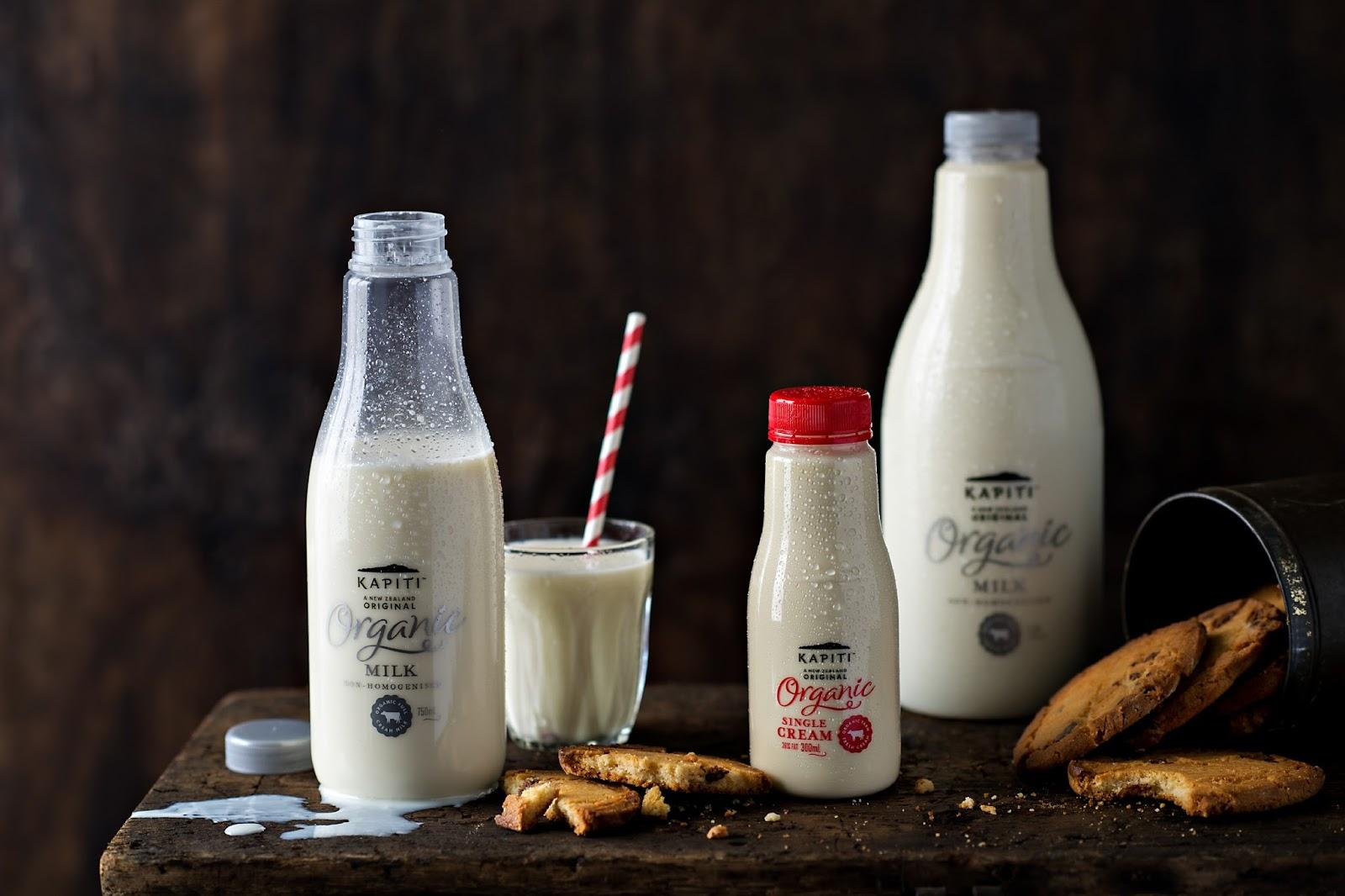 Thiết kế bao bì chai Sữa Kapiti